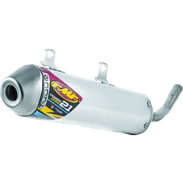 FMF Racing PowerCore 2.1 Silencer Yamaha Stainless Steel Aluminum 024059 Unpainted