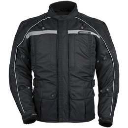 Black Tour Master Womens Transition Series 3 Textile Jacket