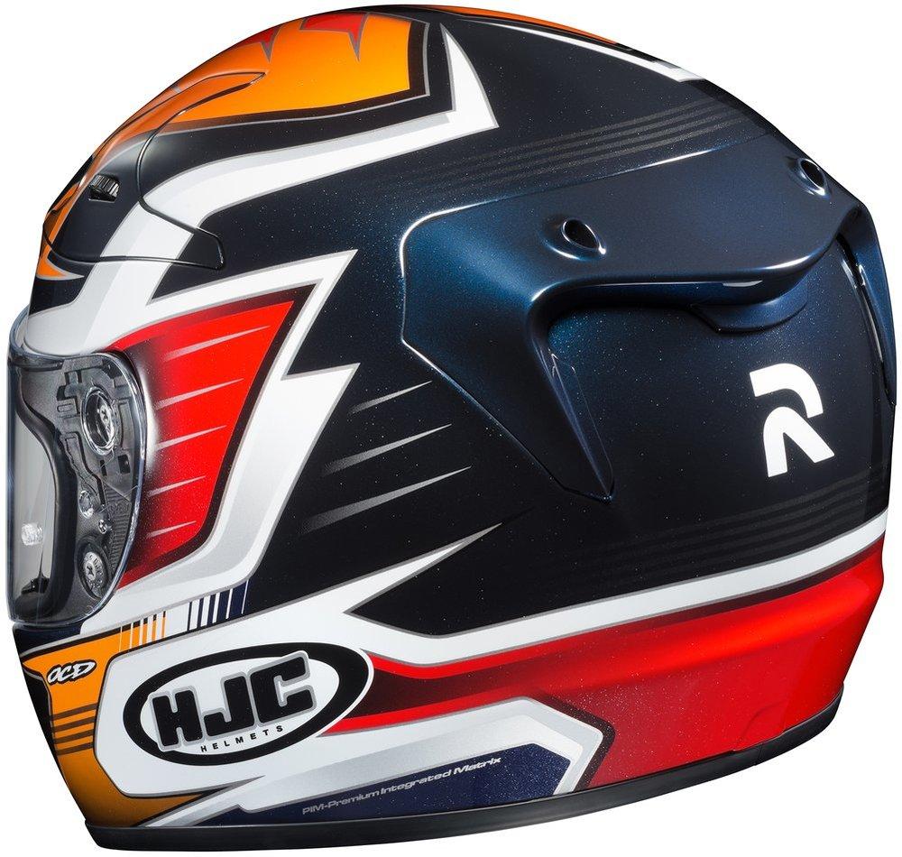 hjc rpha 10 pro elsworth full face motorcycle 206097. Black Bedroom Furniture Sets. Home Design Ideas