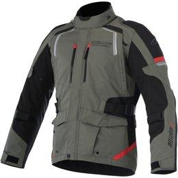 Alpinestars Mens Andes V2 Drystar All-Weather Textile Adventure Riding Jacket Green