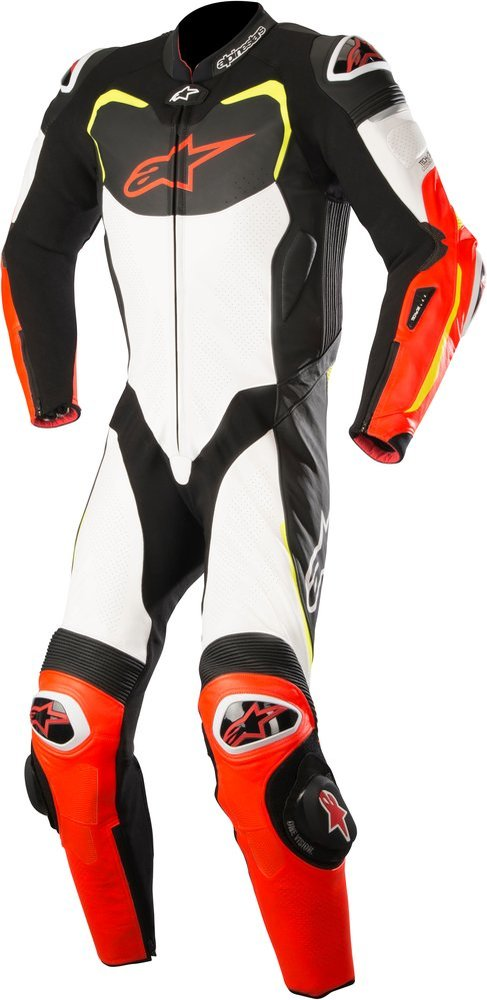 1 alpinestars mens gp pro 1 piece tech air suit 1062128. Black Bedroom Furniture Sets. Home Design Ideas