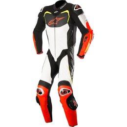 Alpinestars Mens GP Pro 1 Piece Tech-Air Compatible Leather Suit Black