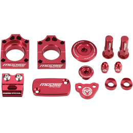 Moose Racing Aluminum Bling Pack Honda CRF450X Red 1231-0899 Red