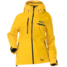 Divas Womens Prizm Waterproof Shell Technical Snowmobile Jacket Yellow