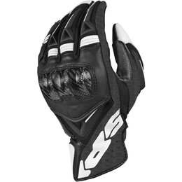Spidi Sport Mens STR-3 Coupe Leather Gloves Black
