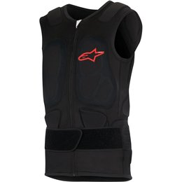 Alpinestars Mens Track Vest 2 Sleeveless Protection Black