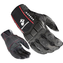 Black Joe Rocket Marines Tactical Leather Gloves