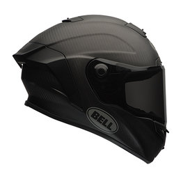 Bell Powersports Race Star Full Face Motorcycle Helmet Black