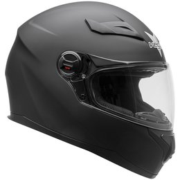 Vega AT2 AT-2 Full Face Motorcycle Helmet With Flip-Up Shield Black
