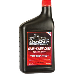 HardDrive Sportster Gear/Chaincase Oil 1 Qt 12/Case For Harley 2992-042C Unpainted