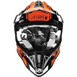 Just1 J12 J-12 Dominator MX Helmet Orange