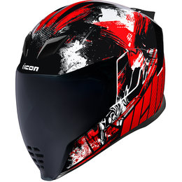 Icon Airflite Stim Full Face Helmet Red