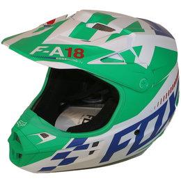 Fox Racing V1 Sayak MX Helmet CLOSEOUT Green
