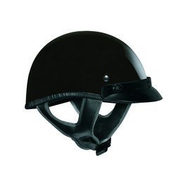 Gloss Black Vega Mens Xta Half Helmet 2013
