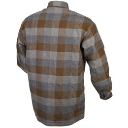 Scorpion Mens Covert Reinforced Flannel Riding Shirt Brown