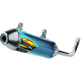 FMF Racing PowerCore 2.1 Silencer KTM Blue Anodized Titanium 025192 Blue