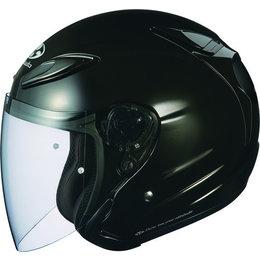 Metallic Black Kabuto Mens Avand Ii Open Face Helmet 2014