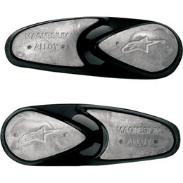 Alpinestars Mens SMX-Plus SMX-R SMX-4 Supertech Magnesium Toe Sliders Pair Black