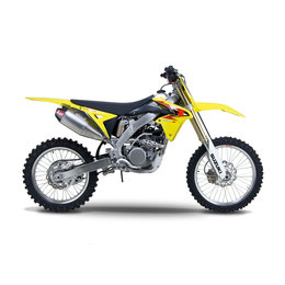 Stainless Steel Header, Stainless Steel Midpipe, Aluminum Muffler, Carbon Fiber End Cap Yoshimura Rs-4 Full Exhaust System Stainless Alum Carbon F Suzuki Rm-z250 10-13
