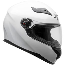 Vega AT2 AT-2 Full Face Motorcycle Helmet With Flip-Up Shield White