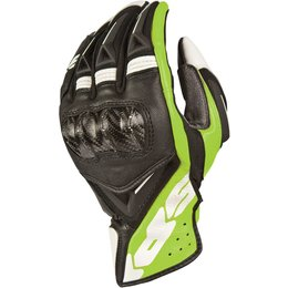 Spidi Sport Mens STR-3 Coupe Leather Gloves Black