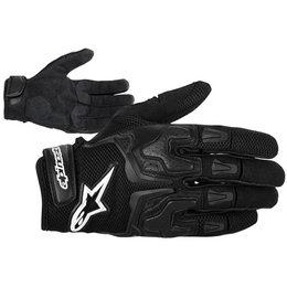 Black Alpinestars Smx-3 Air Leather Gloves