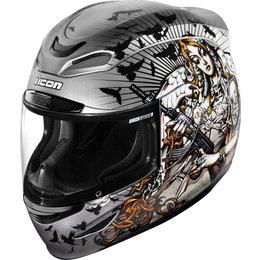 Icon Airmada Nikova II Full Face Helmet Silver