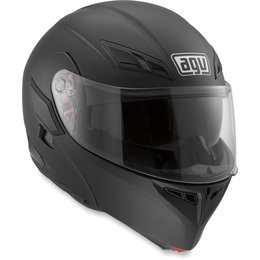Flat Black Agv Mens Numo Modular Helmet 2013