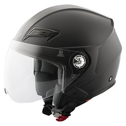 Matte Black Speed & Strength Ss650 Open Face Helmet 2014