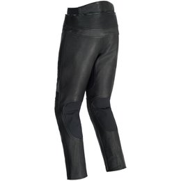 Tour Master Mens Element Cooling Armored Leather Riding Pants Black