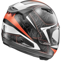 Arai Quantum-X Sting Full Face Helmet With Flip Up Shield Red