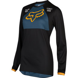 Fox Racing Womens 180 Mata Jersey Black