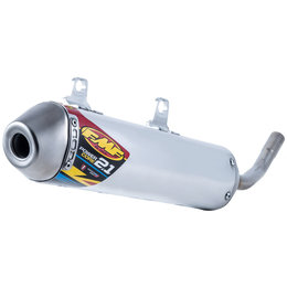 FMF Racing PowerCore 2.1 Silencer Yamaha Stainless Steel Aluminum 024062 Unpainted