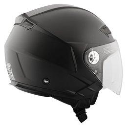 Matte Black Speed & Strength Ss650 Open Face Helmet 2014