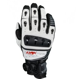 Knox Mens ORSA Hand Armored Leather Gloves White
