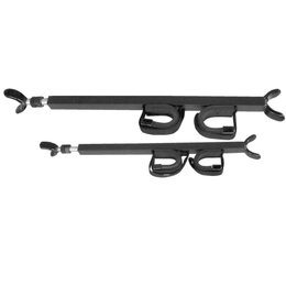 Great Day Quick Draw Overhead Gun Rack 28-35 Inch Black
