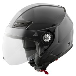 Gloss Black Speed & Strength Ss650 Open Face Helmet 2014