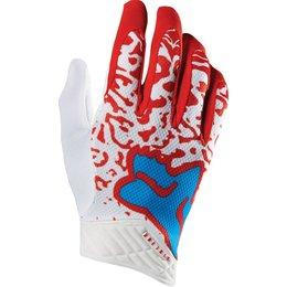 Fox Racing Mens Cauz Airline Mesh Gloves Red