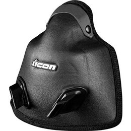 Black Icon Replacement Breath Box For Variant Dual Sport Helmet