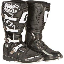 Black Gaerne Sg-10 Motocross Boots Us 14