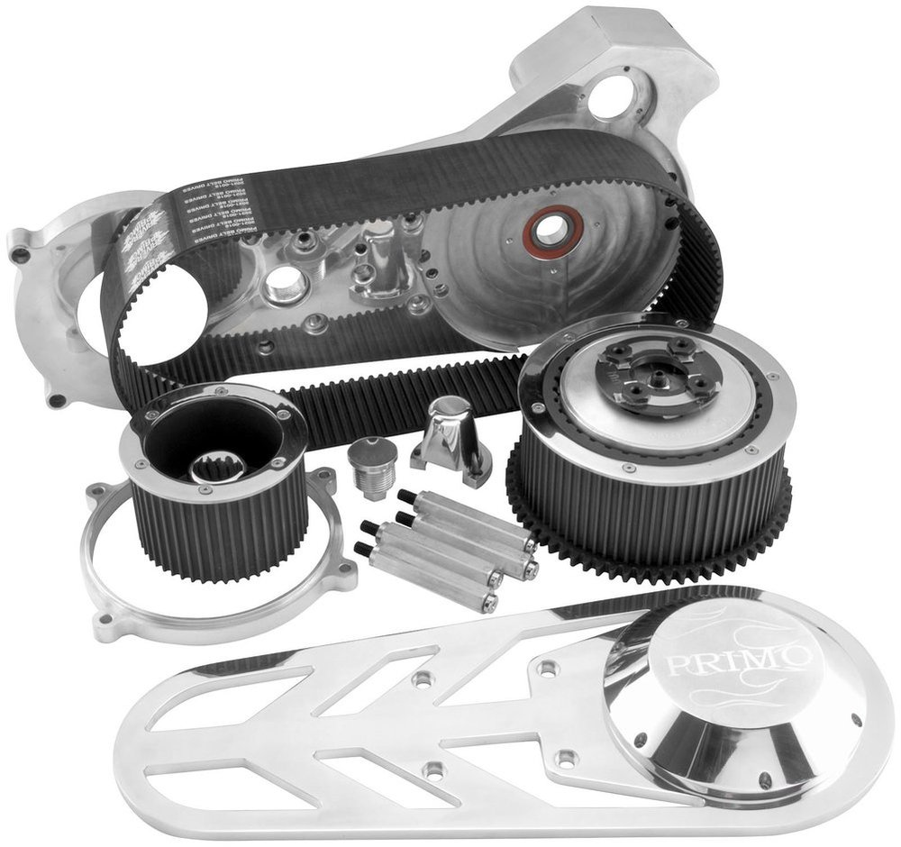 ... Rivera Primo Brute IV Extreme 3 Inch 8MM Belt Drive For Harley  2016-0165 Unpainted ...