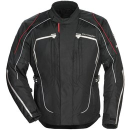 Tour Master Womens Advanced Armored Textile Riding Jacket Black