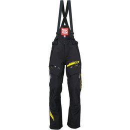 Arctiva Mens Vibe Shell Removable Bib Snowmobile Pants Black