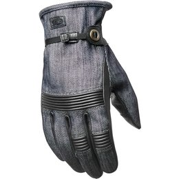 RSD Roland Sands Designs Mens Launch Gloves Blue