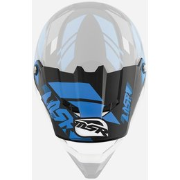 Black, Cyan Msr Replacement Visor For Revone Rev-1 Helix Helmet Black Cyan
