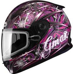 GMax Youth Girls GM49Y Flurry Snow Helmet With Dual Pane Shield Black