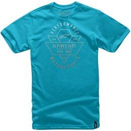 Alpinestars Mens Chevron T-Shirt Turquoise