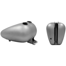 Bare Metal Paughco Axed Fuel Tank 4.2 Gal Double Bare For Harley 82-94