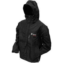 Black Frogg Toggs Toadrage Rain Jacket Nt6601-01sm