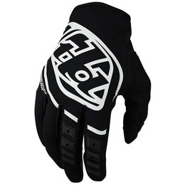 Troy Lee Designs Youth GP MX Motocross Riding Gloves Black
